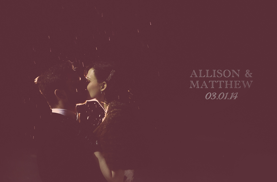 Allison + Matthew | Wedding Photography