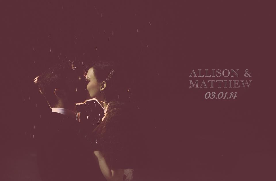 Allison + Matthew | Wedding Photography