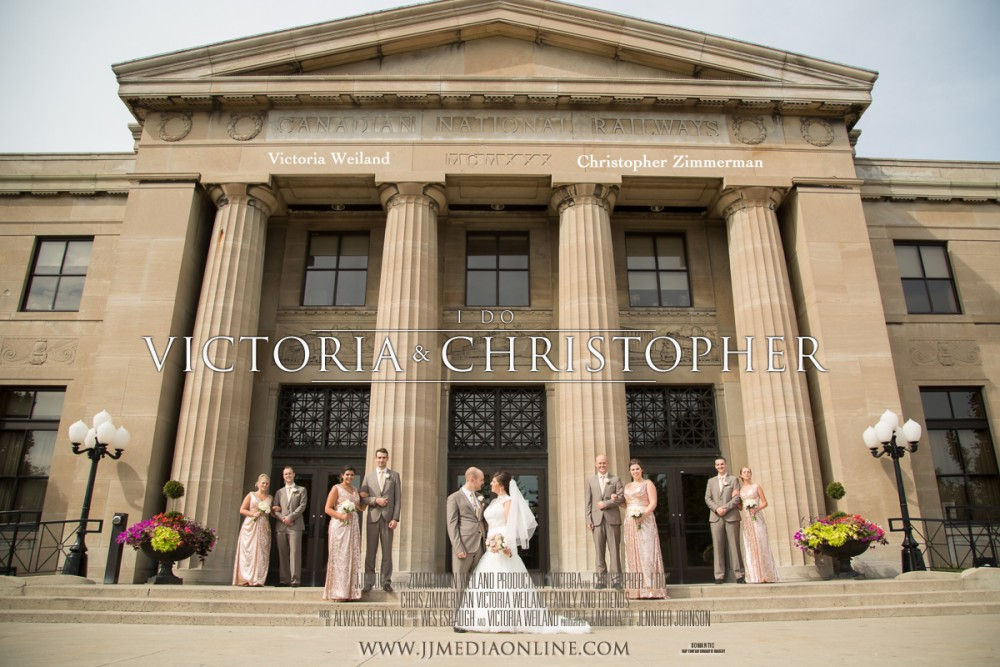 Victoria + Chris, Liuna Station Wedding