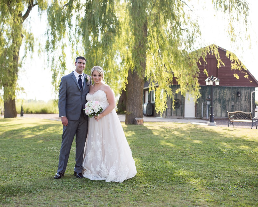 Laura + Mark, Willow Springs Winery Wedding