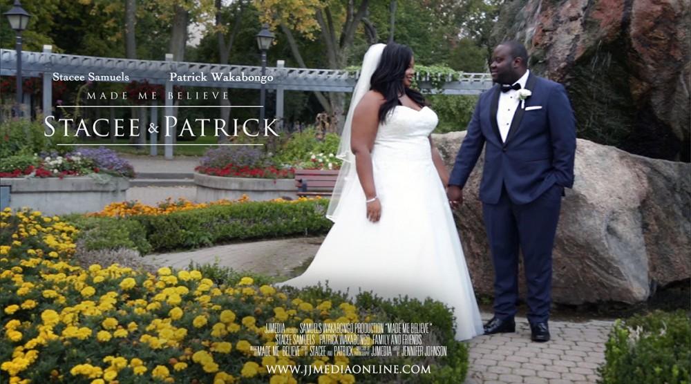 Rosetta McClain Gardens Wedding Stacee and Patrick
