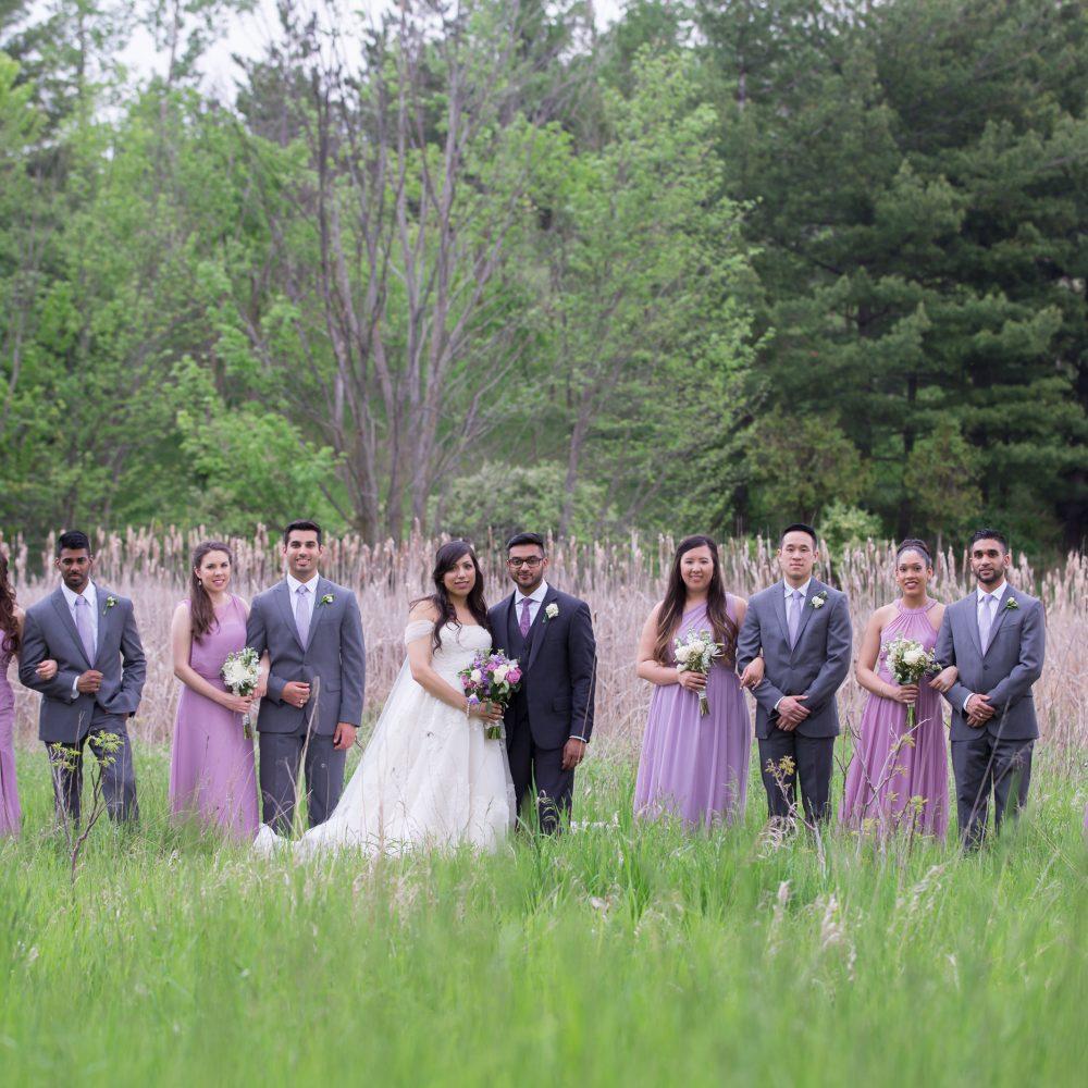 Deena + Andrew, Claireport Place Banquet Wedding