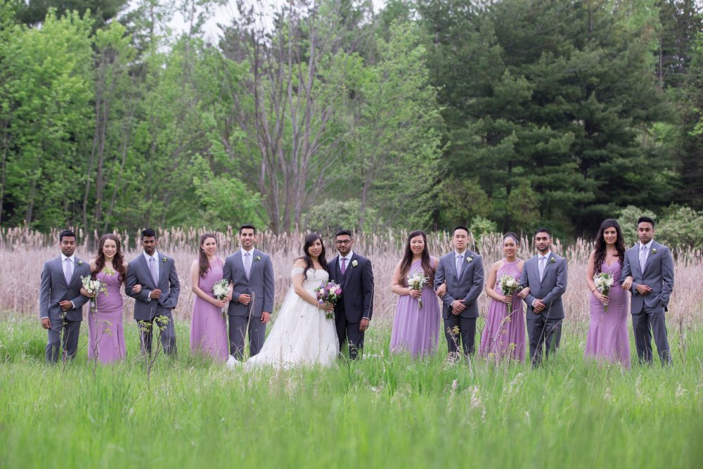 Deena + Andrew, Claireport Place Banquet Wedding