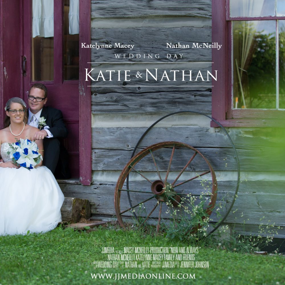 Katie and Nathan, Settlers Village Bobcaygeon Wedding