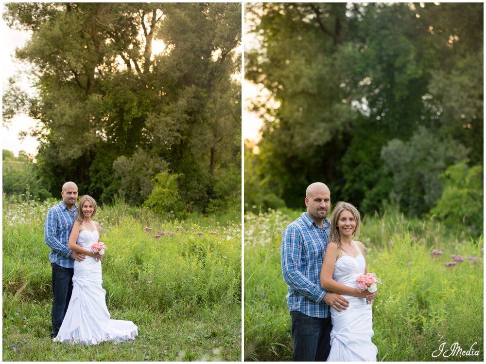 Amanda and Jason, Pickering Wedding Portraits