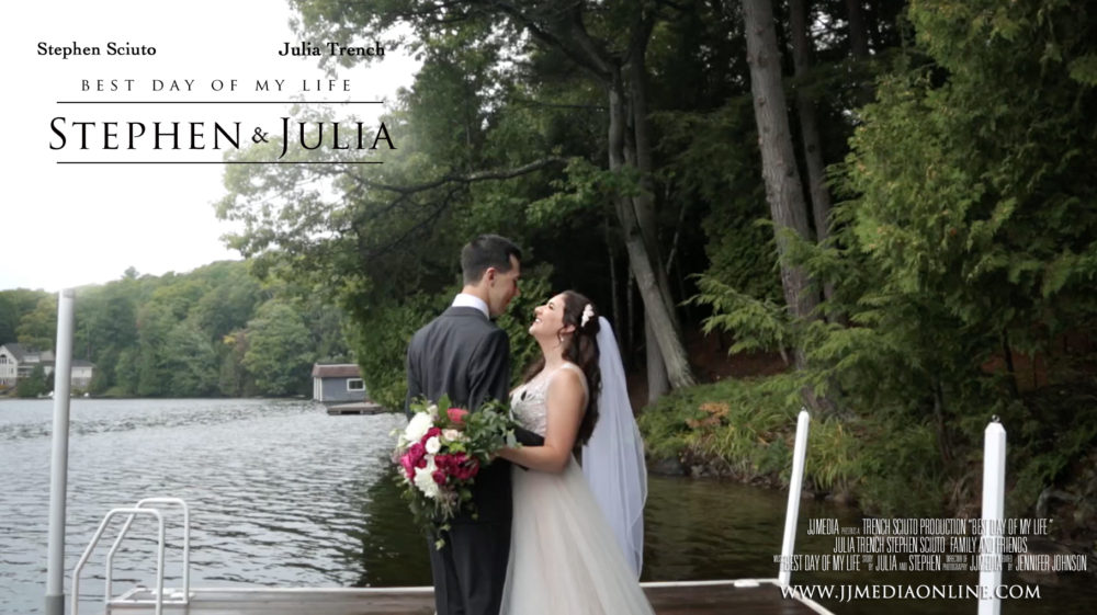 Julia and Stephen, Muskoka Wedding