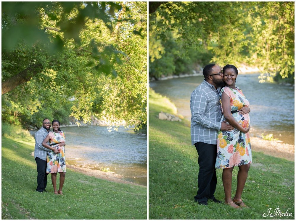 Oshawa Botanical Gardens Maternity Photos