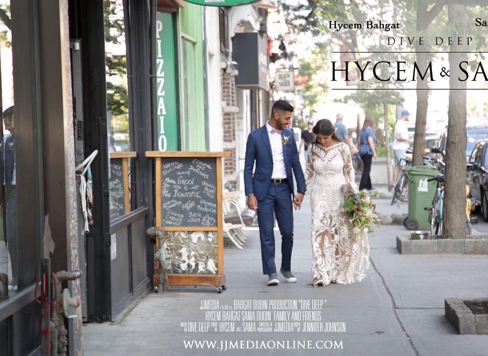 Sama and Hycem, Drake Hotel Wedding