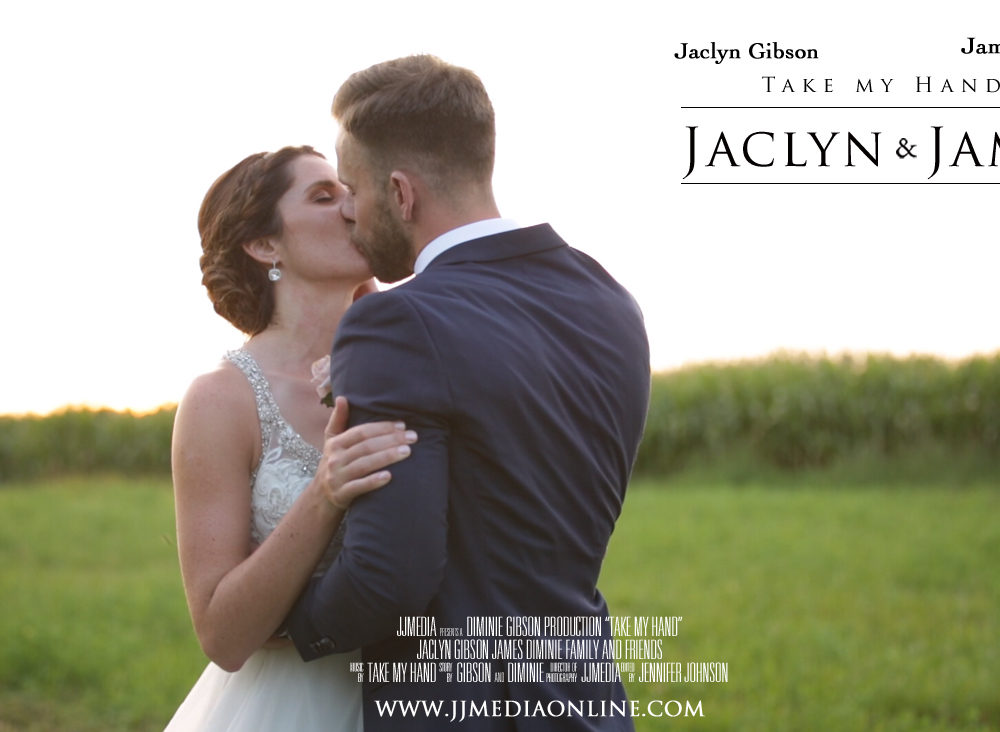 Jaclyn and James, Lake to Skyview Farm Ltd. Wedding