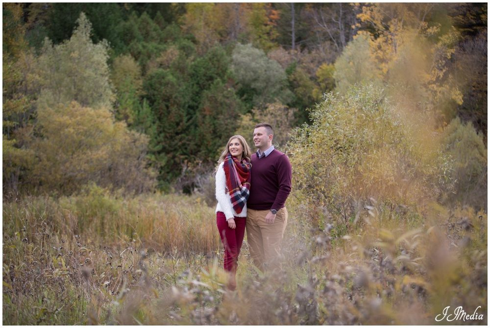 Alexandra and Adrian, Durham Region Engagement Photos
