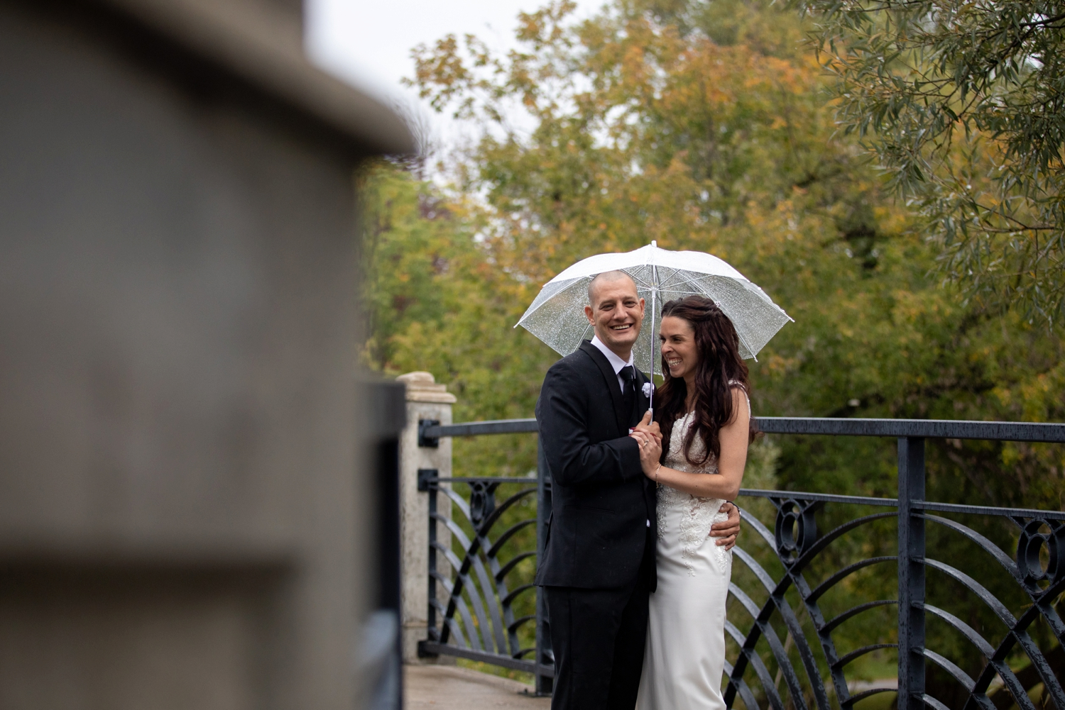 oshawa botanical gardens wedding photography